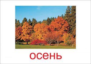 Осень - картинка для детей