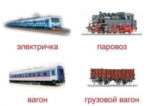 Виды железнодорожного транспорта