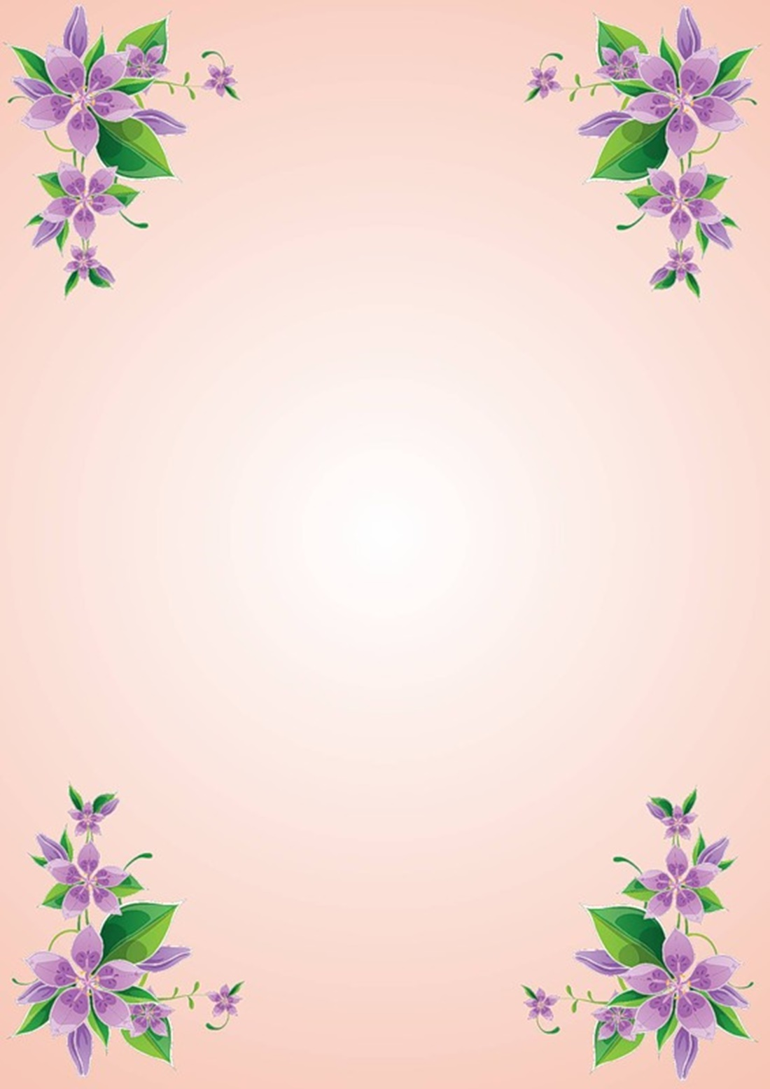 Малиновый фон с цветами для