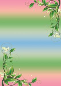 Фон с листьями