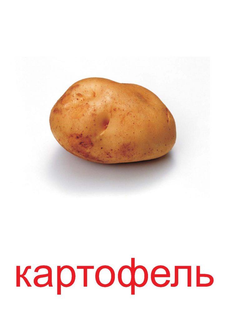 Картофель для детей