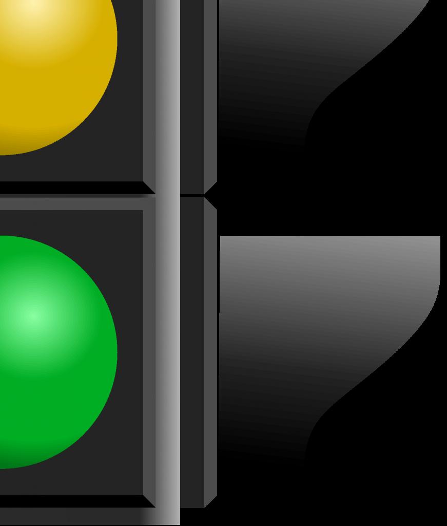 Светофор для плаката, фрагмент 4