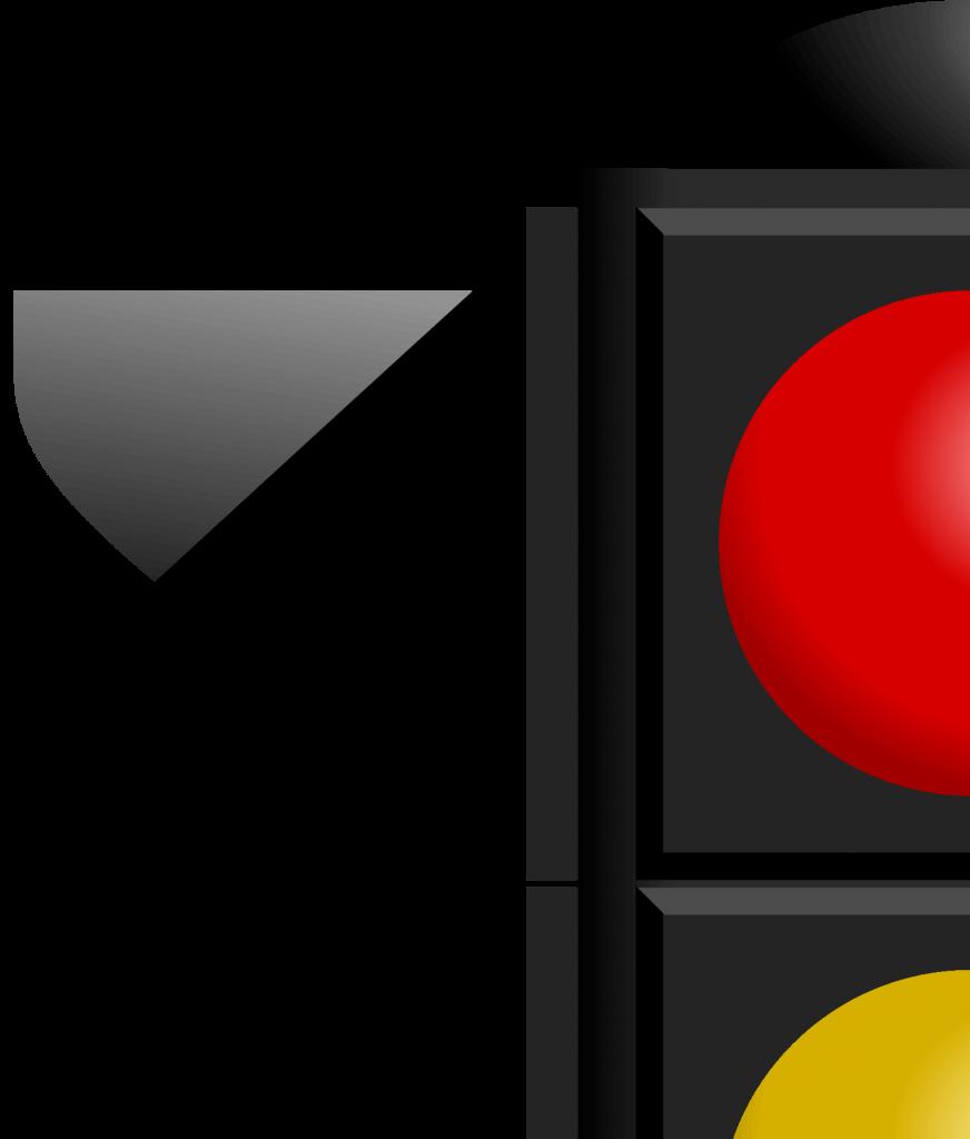 Светофор для плаката, фрагмент 1