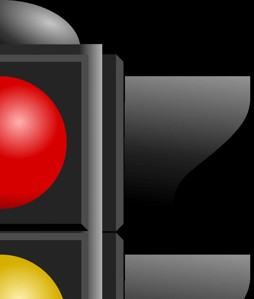 Светофор для плаката, фрагмент 2