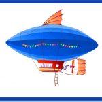Дирижабль - воздушный вид транспорта