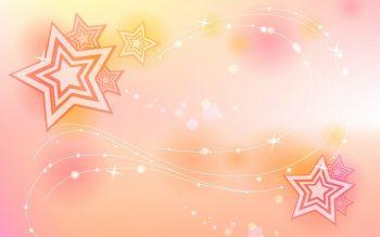 Пудровый фон со звездами