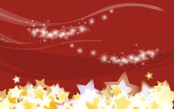 Звезды на красном фоне
