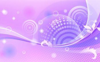 Звездная фиолетовая абстракция