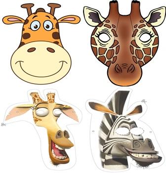 Маска жирафа