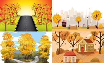 Плакаты для оформления «Осень»