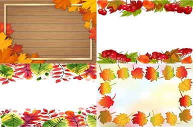 Рамки для объявлений «Осень»