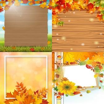 Рамки «Золотая осень»